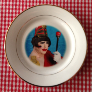 Dina Plate (Not intended for eating off of)